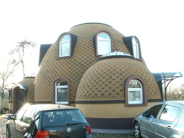 Круглый дом - уникальное сооружение