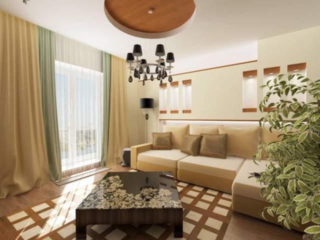 Гостиная - новый интерьер комнаты