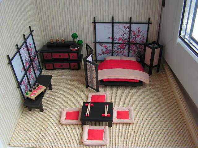 Интерьер в японском оформлении