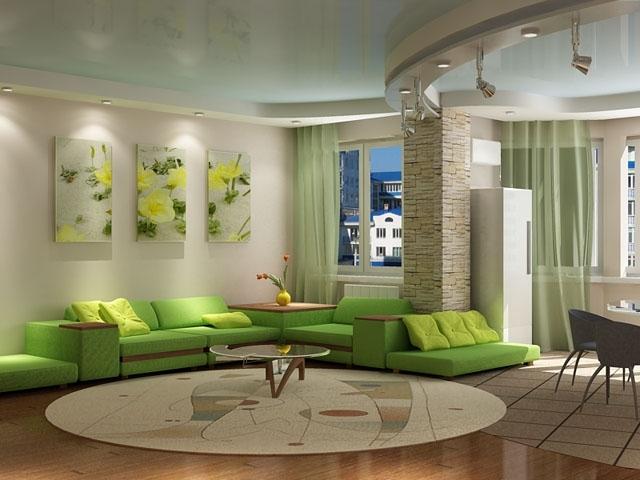 Необычные интерьеры в вашей гостиной