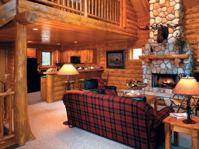 Особенности оформления интерьера в деревянном доме