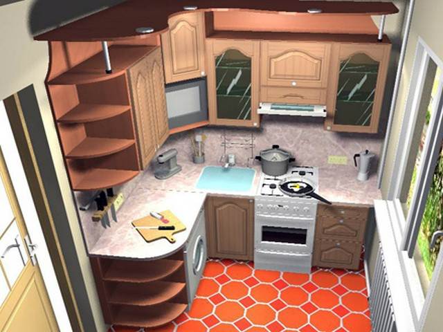 Меняем интерьер маленькой кухни