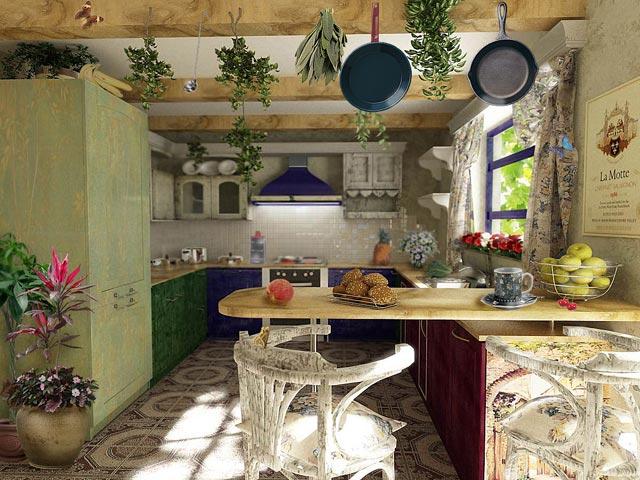 Дизайн частного дома в стиле кантри