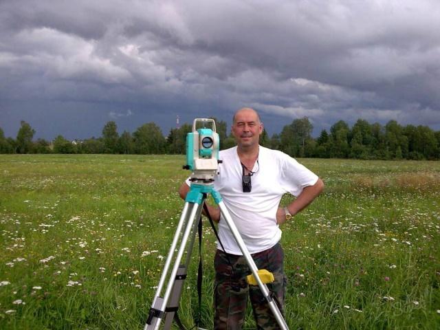 Как мерят почву земельные специалисты