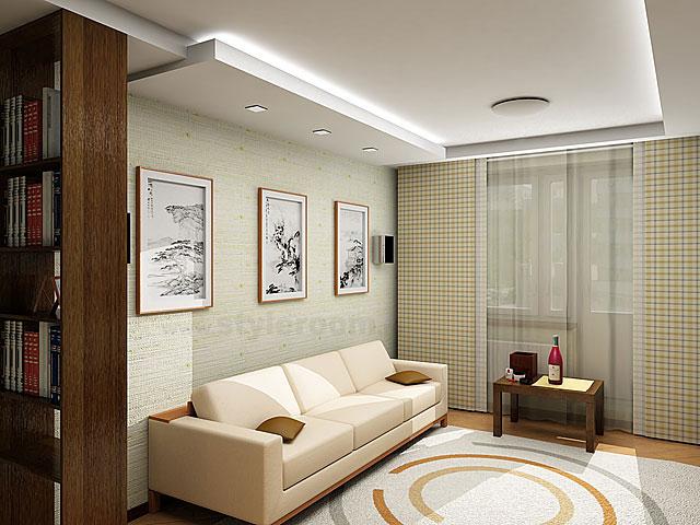 Стильное, красивое и просторное помещение